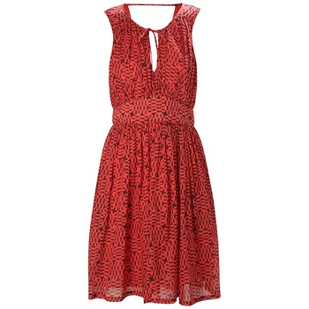 French Connection Red Pixie Pixels Dress