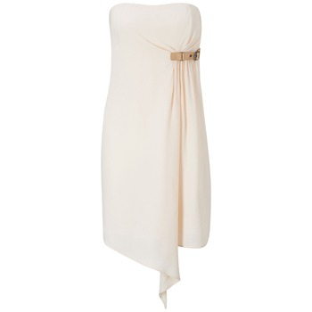 French Connection Peach Farrow Strapless Dress