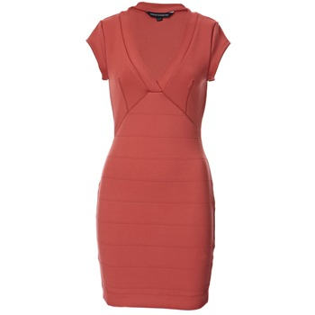 French Connection Coral Bodycon Panelled Dress