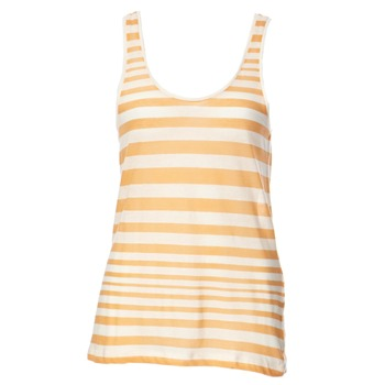 French Connection Peach Caprina Stripe Vest Top