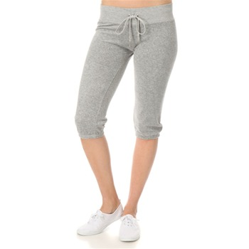Juicy Couture Heather Janey Towelling Cropped Pants 18
