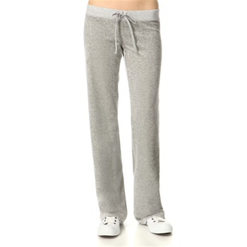 Juicy Couture Silver Lining Original Leg Velour Pants 34