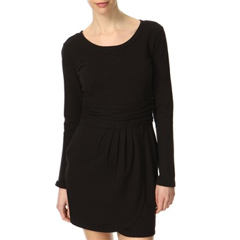 Juicy Couture Black Wrap Skirt  Cotton Dress