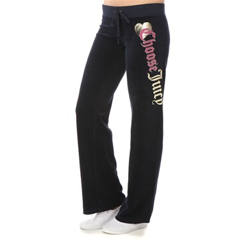 Juicy Couture Regal Choose Juicy Velour Pants 34
