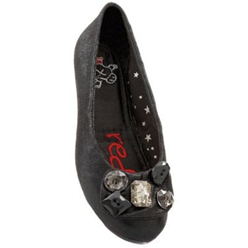 Redfoot Girls Black Mischa Pumps