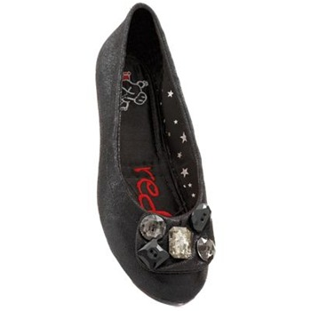 Redfoot Black Mischa Pumps