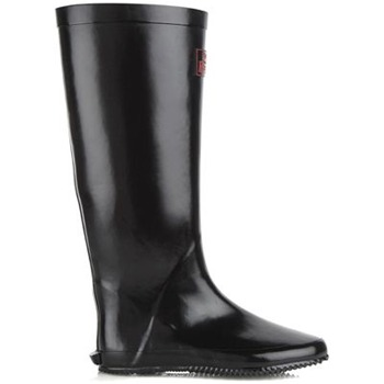 Redfoot Black Walk in the Park Festival Rain Boot