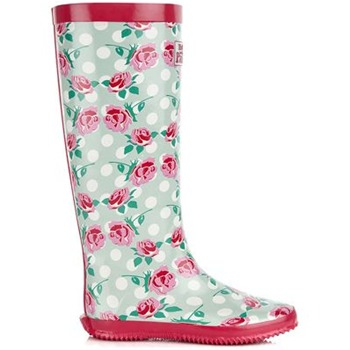 Redfoot Grey Floral Walk in the Park Festival Rain Boot