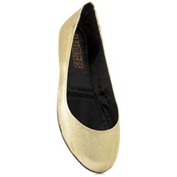 Redfoot Gold Crack Flatmates Pumps