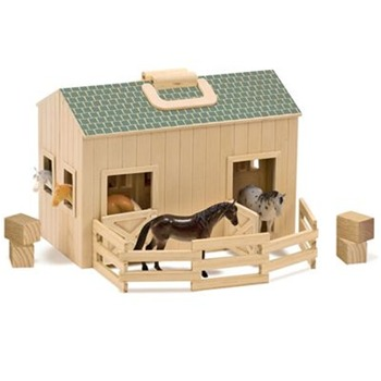 Melissa and Doug Fold and Go Stable