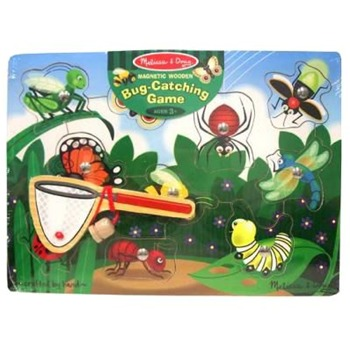 Melissa and Doug Bug Catching Magnetic Puzzle Game