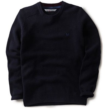 Crew Clothing Navy Richmond Knitted Jumper
