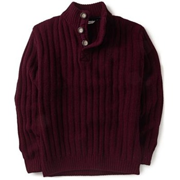 Crew Clothing Red Wine Highland Knitted Jumper