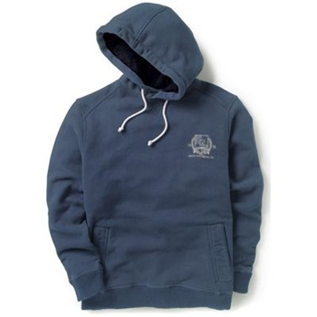 Crew Clothing Blue Varisty Hooded Jumper