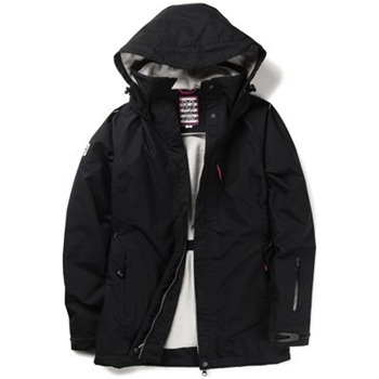 Crew Clothing Dark Blue Spray Water Resistant Jacket