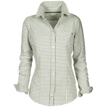 Crew Clothing Green/White Cotterdale Check Shirt