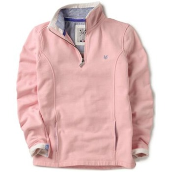 Crew Clothing Pink Classic Seamed Sweatshirt