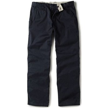 Crew Clothing Navy Vintage Chino Trousers