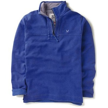 Crew Clothing Blue Pique Classic Sweatshirt
