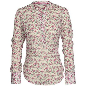 Crew Clothing Red/White Layla Floral Shirt