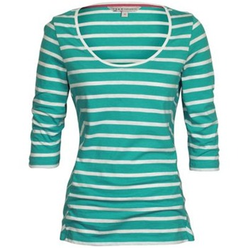 Crew Clothing Green/White Gingerlily Stripe Top