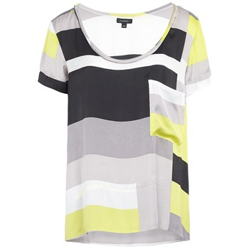 Full Circle Grey/Yellow Haruki Colour Block Blouse