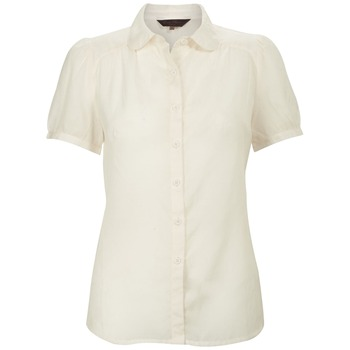 Great Plains Cream Short Sleeved Blouse