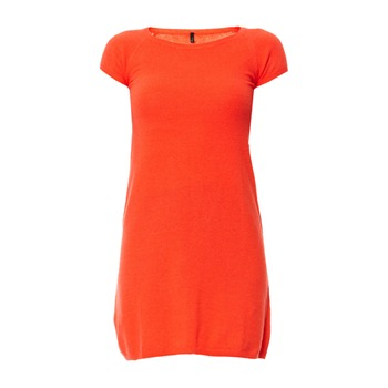 Benetton Robe pull rouge