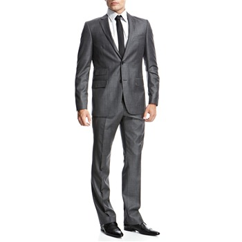 Peter Werth Grey Two Button Single Breasted Suit
