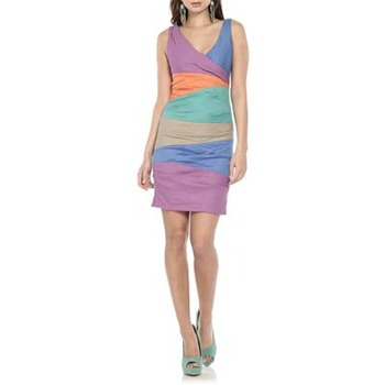 Nicole Miller Multicoloured Carnival Mini Dress