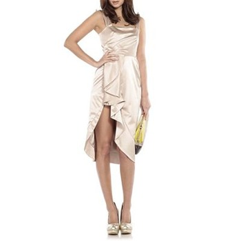 Temperley London Cream Alexis Silk Blend Dress