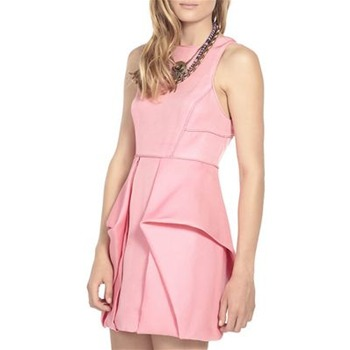 Tibi Pink Simona Dress