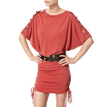 Vivi Boutique Rustic Red Oversized Jersey Dress