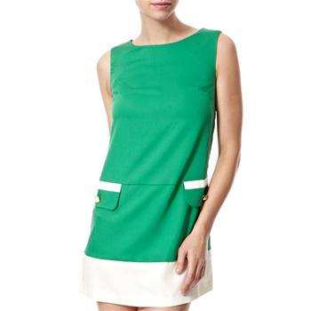 Vivi Boutique Green A-Line Shift Dress