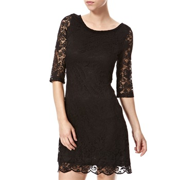 Vivi Boutique Black Lace A-Line Dress