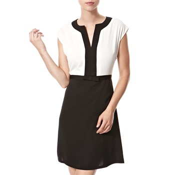 Vivi Boutique Black/White Monochrome Shift Dress