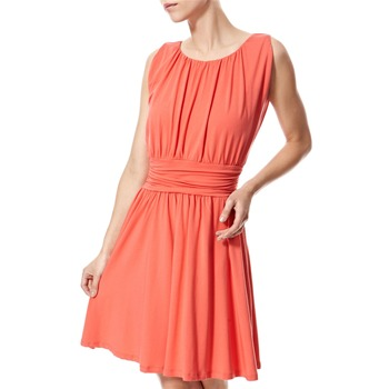 Vivi Boutique Coral Jersey Tea Dress