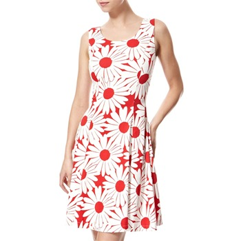 Vivi Boutique Red/White Floral Print Dress