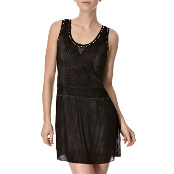 Lipsy Black Swan Theory Pleated Dress