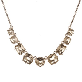 Les Néréides Light Grey La Diamantine Multi Necklace