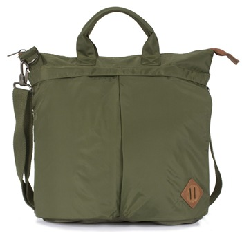 Pretty Green Green Felix Messenger Bag