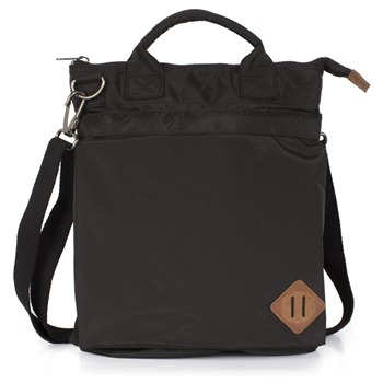 Pretty Green Black Laptop/Messenger Bag