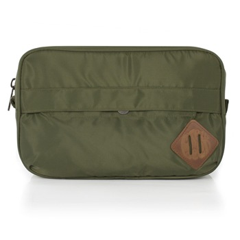 Pretty Green Green Nylon Wash Bag