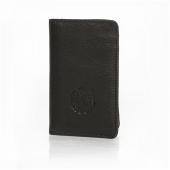 Pretty Green Black Leather Card Holder