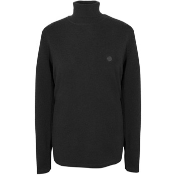 Pretty Green Black Turtle Neck Jumper