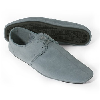 Pretty Green Steel Suede Casual Shoes