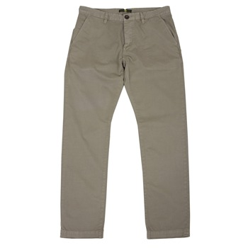 Pretty Green Sand Cotton Chino Trousers