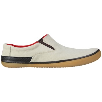 Vivo Barefoot Beige/Brown Dharma Organic Canvas Shoes