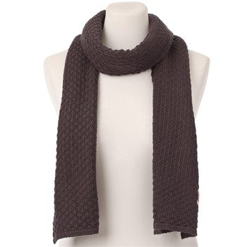Avoca Anthology Gull Diamond Cotton/Wool Blend Scarf