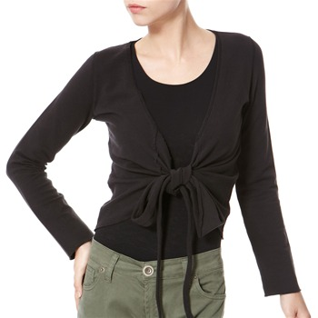 Avoca Anthology Black Ballet Wrap Style Top